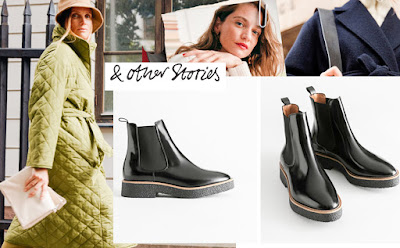 and other stories black chelsea boots