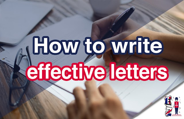 How to write effective letters?