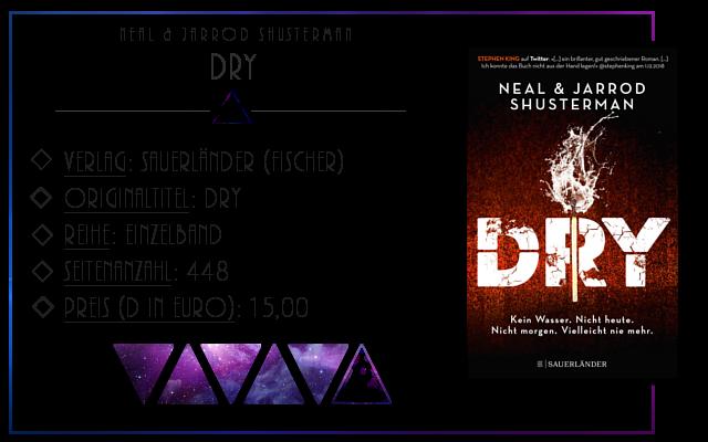 [Rezension] Dry - Neal & Jarrod Shusterman
