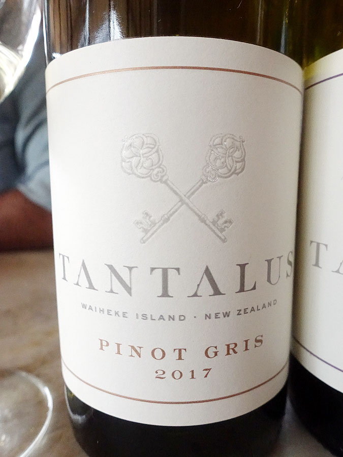 Tantalus Pinot Gris 2017 (91 pts)