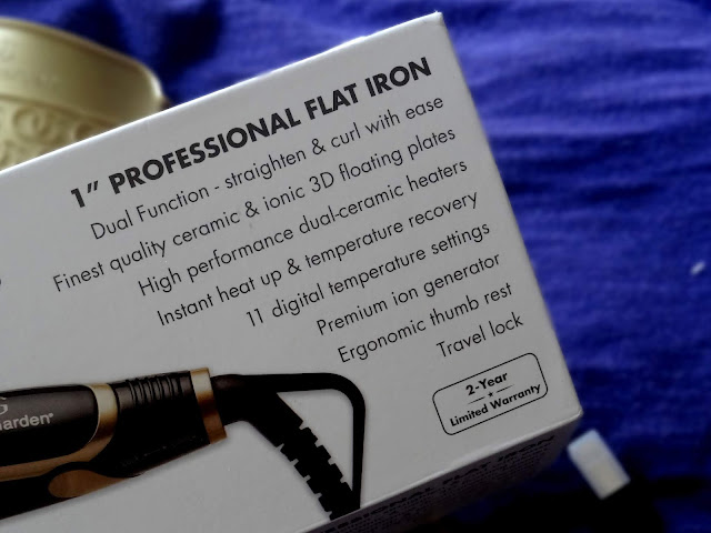 Olivia Garden Ceramic + Ion Professional Flat Iron