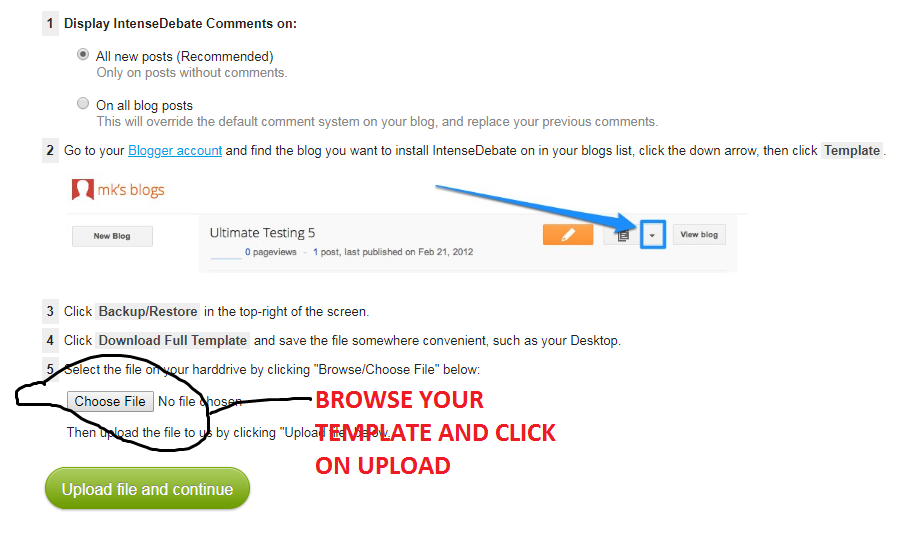 How to change your blogspot comment box to wordpress comment form copy all the html code and goto bloggerthemeedit html then control a to highlight all the html code and delete it then replace it with maxwellsz