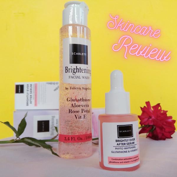 Review Skincare: Scarlett Brightening Serum & Brightening Facial Wash