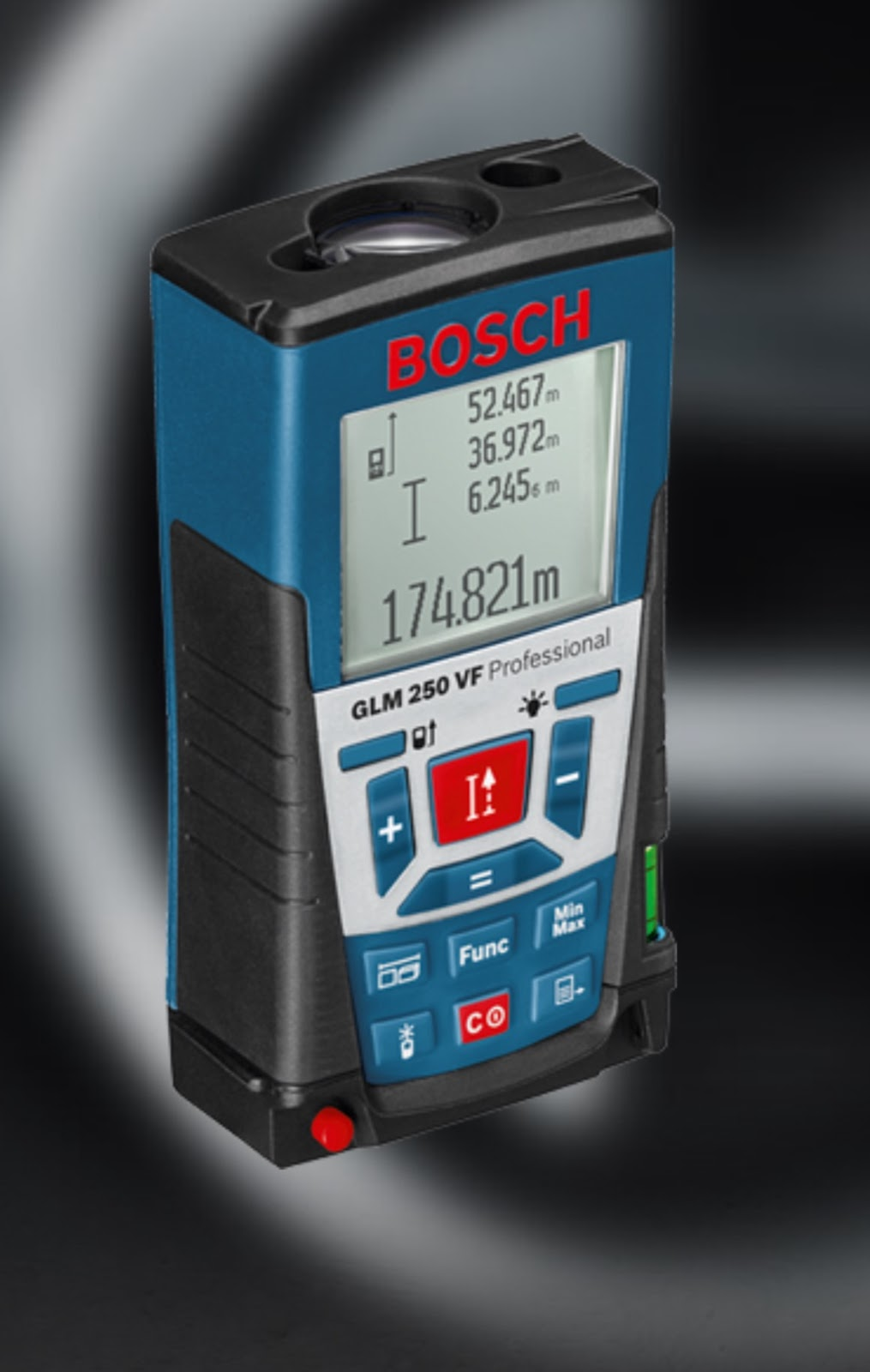 bosch glm 40 how to change units
