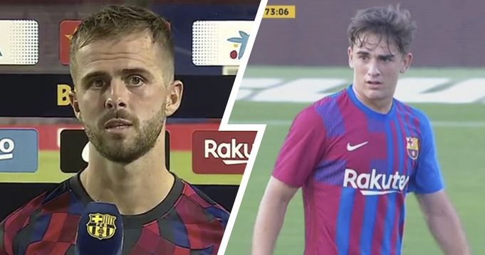 Pjanic's exit to make way for Gavi promoted into first team