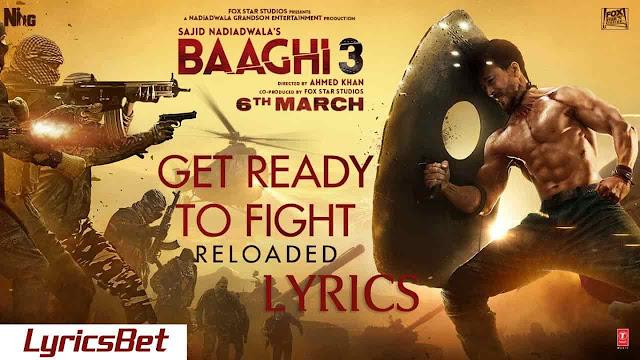 Get Ready to Fight Reloaded Lyrics - Pranaay ft. Siddharth Basrur