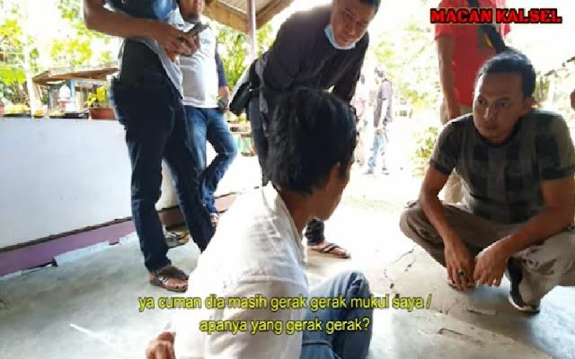Horor Pengakuan Pelaku Mutilasi di Banjarmasin: Dia Masih Gerak-Gerak Tanpa Kepala, Mukul Saya