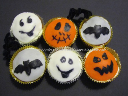 halloween cupcakes. Black Bedroom Furniture Sets. Home Design Ideas