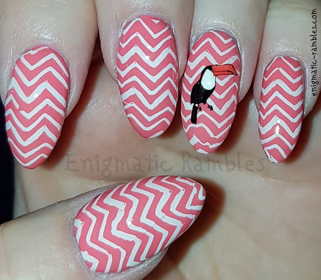 Chevron-Toucan-Stamped-Nails