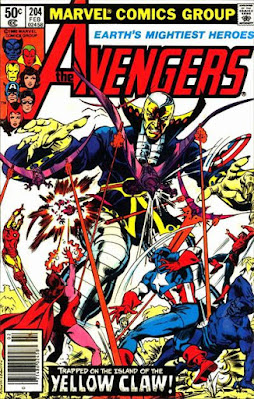 Avengers #204, Yellow Claw