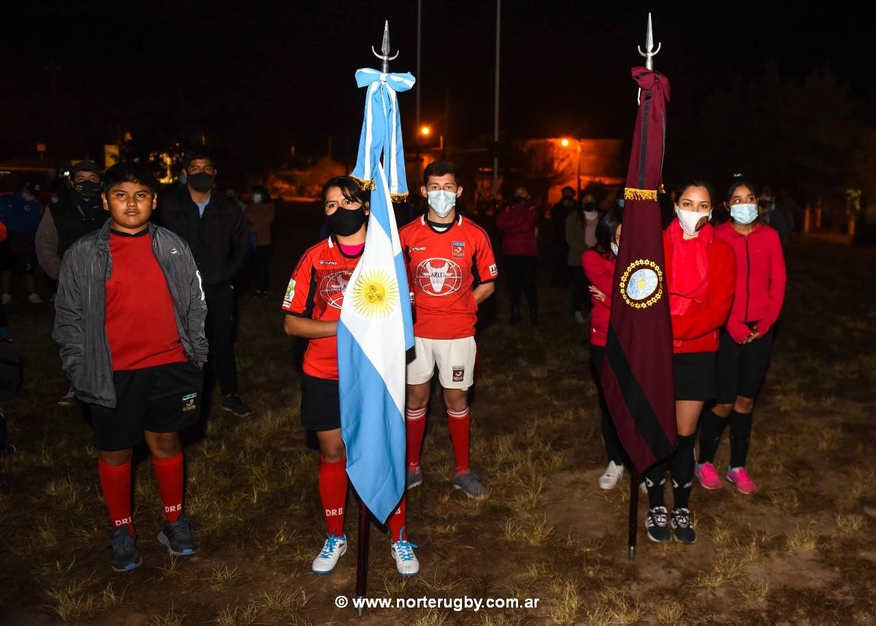 Iluminación del predio de Vallistos Rugby Club