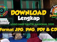 Download Logo Hari Santri Nasional 2020; Format JPG, PNG. PDF dan CDR