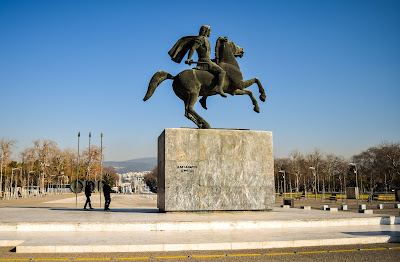 Alexander the Great Statue - Thessaloniki