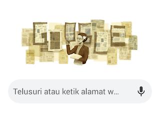 Wajah Wartawati Senior Ini Tampil di Google Doodle Hari Ini, Siapa Ani Idrus?