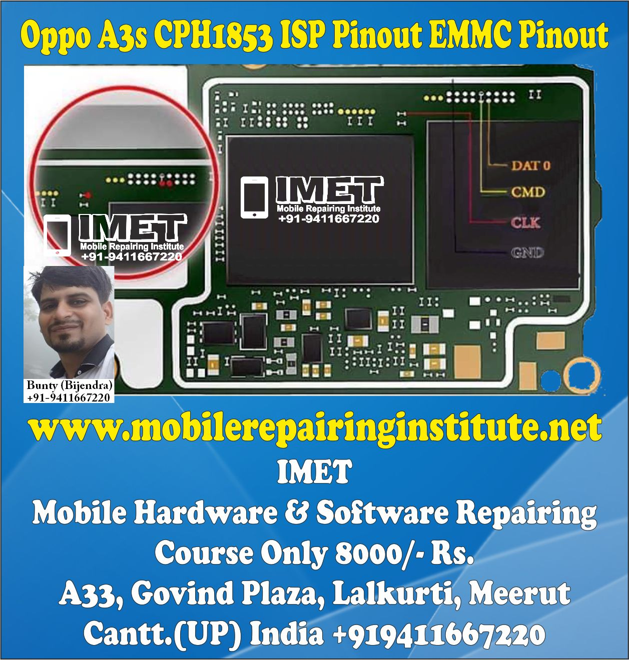 Oppo 1201 Isp Pinout