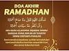 Doa Akhir Ramadhan/Ramadan