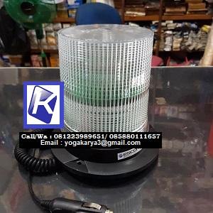 Jual Lampu Truk Lampu Strobo 12-24V Putih Magnet di Jakarta