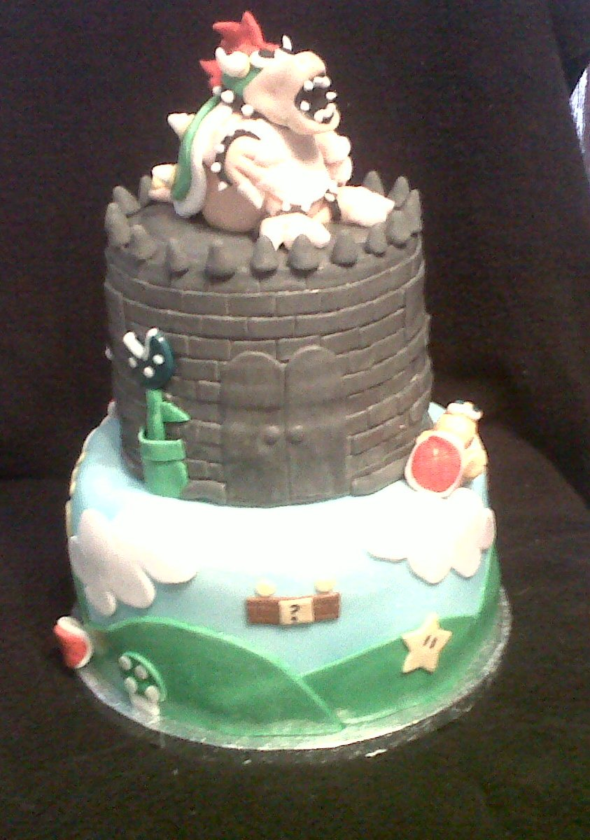 Jayme S Cakes Bowser From Mario Bros Cake