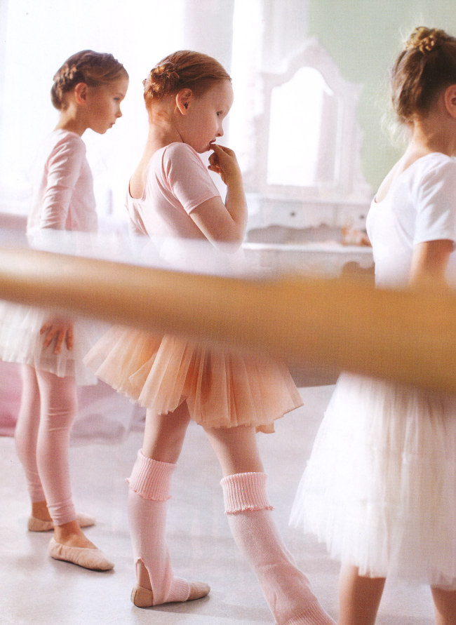 Ballet and Pink Cake by Donna Hay