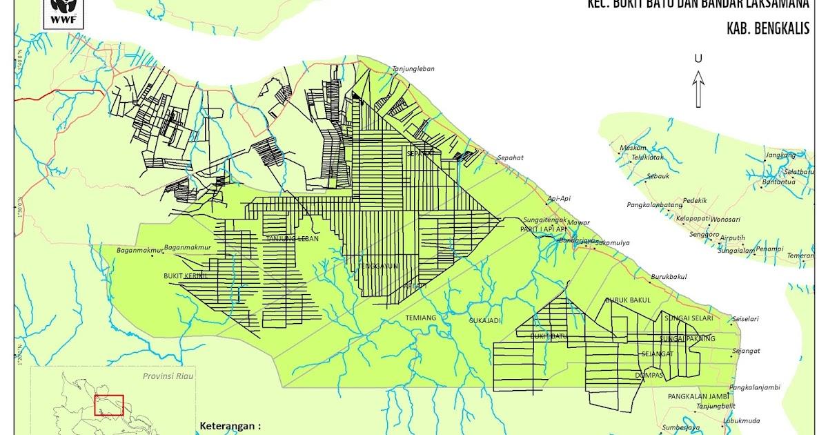 Peta Kanal - Riau Biru