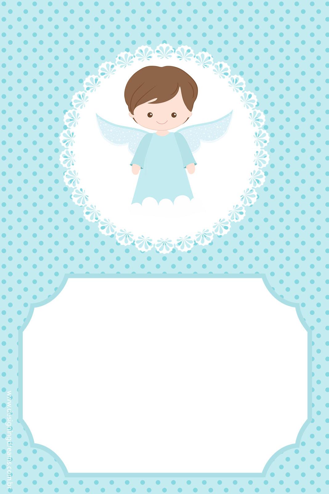Convite Batizado Gratis Para Imprimir Cantinho Do Blog
