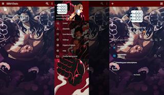 BBM MOD One Piece V3.1.0.13 Apk Terbaru
