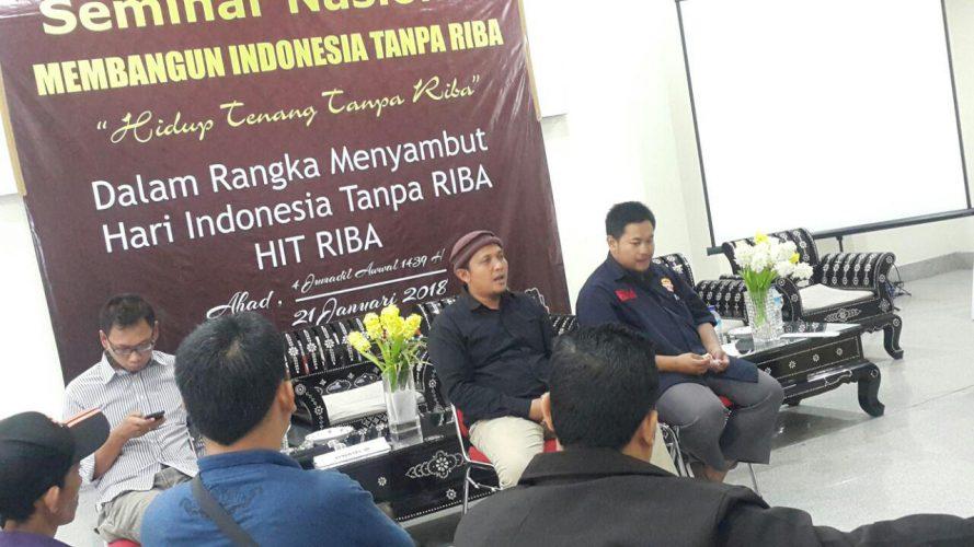 Bersama RCC dan PAGARI, Rumahku Surgaku Gelar Seminar Anti Riba di Lombok
