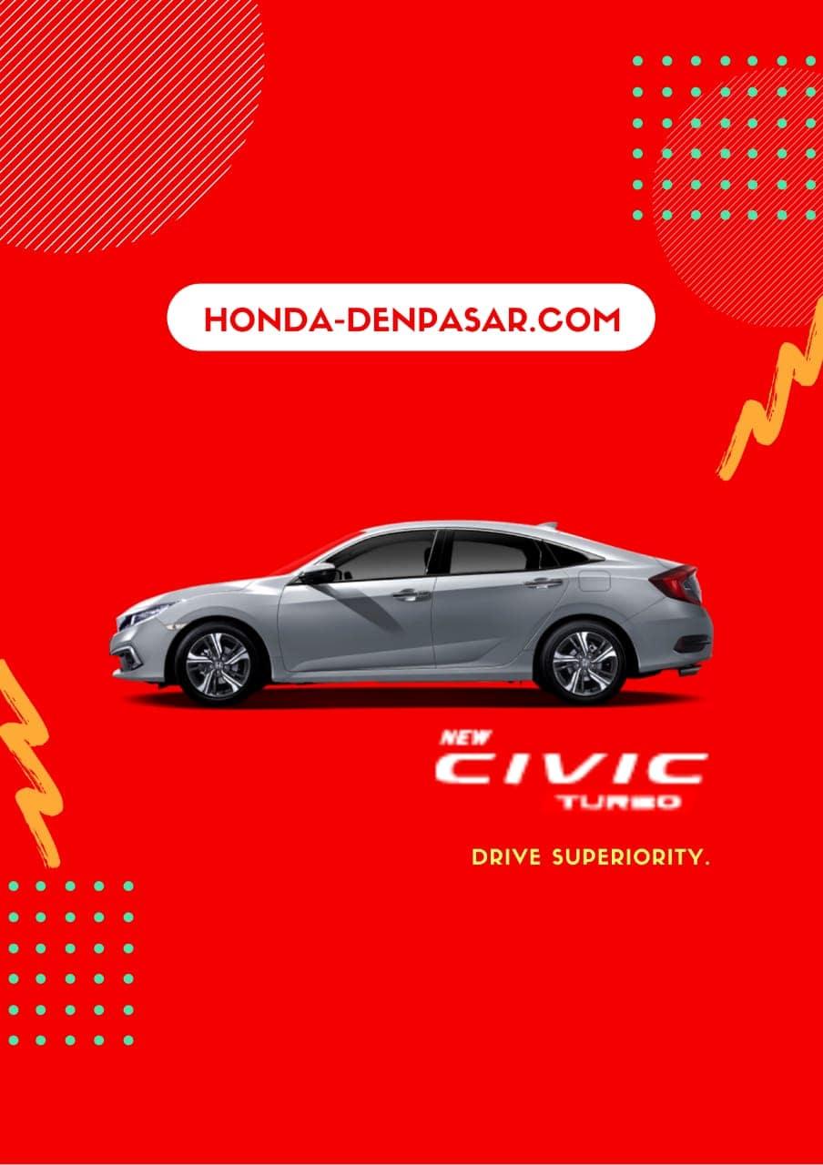 Honda Civic Turbo, Harga Honda Civic Turbo Bali, Promo Honda Civic Turbo Bali