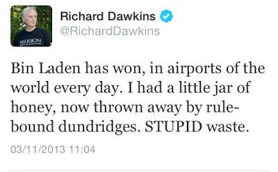 Dawkins honey tweet
