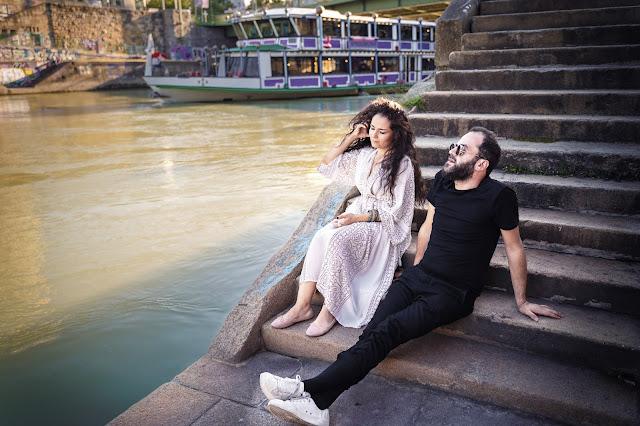 mit Basma Jabr, Donaukanal 2019