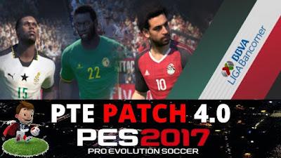 PTE Patch 4.0 PES 2017 Update Terbaru 2017