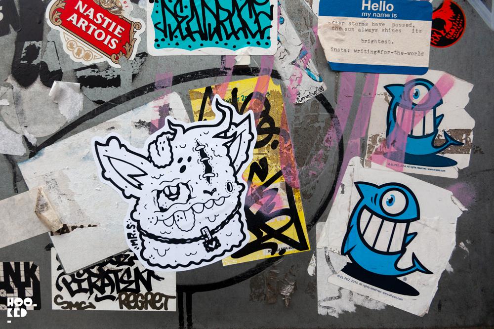 Stick it up: Shoreditch Street Art Stickers