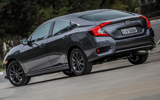 Novo Honda Civic 2020  EXL