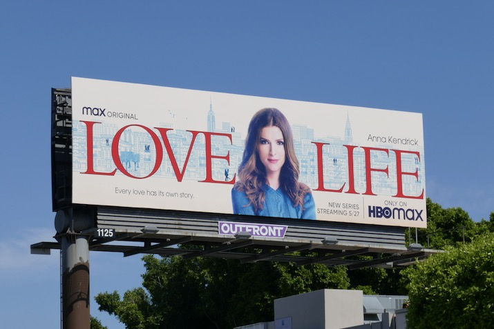 Love Life series premiere billboard