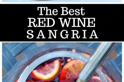 The #Best #Red #Wine #Sangria
