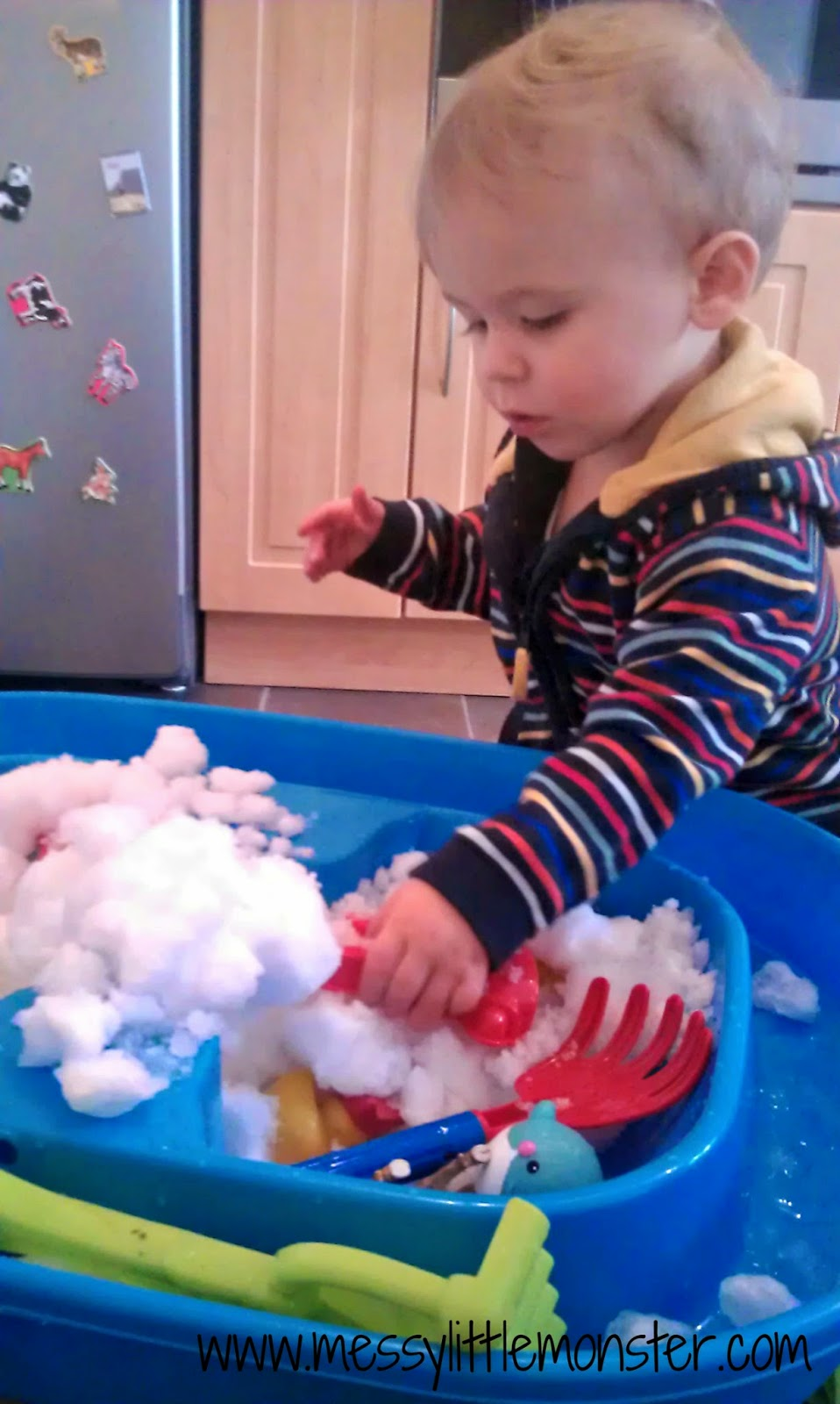 Playing in the snow activity ideas