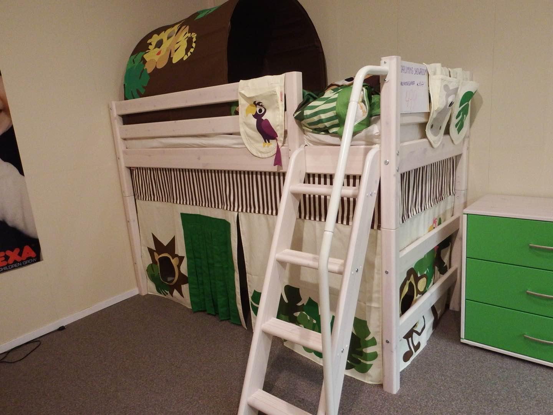 Kinderkamer fjord lifetime hoogslaper met bureau trendy jeugdkamer