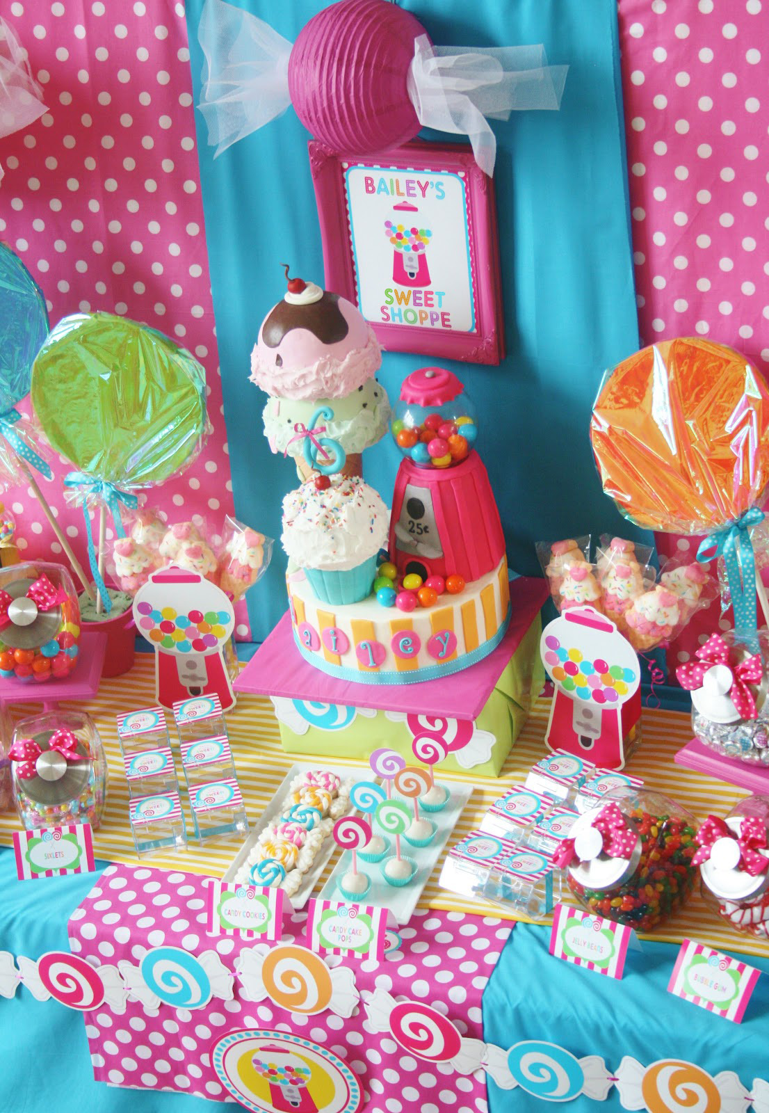 Amanda S Parties To Go Sweet Shoppe Party Candyland