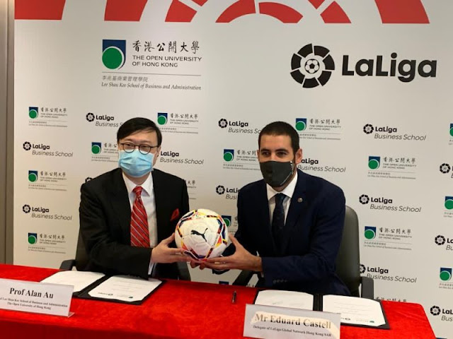 OUHK signs MOU with LaLiga