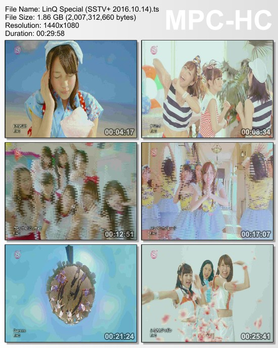 [TV-Variety] LinQ スペシャル (SSTV+ 2016.10.14)