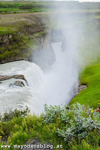 Gullfoss in Island