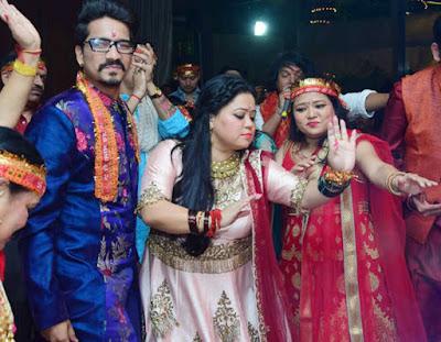 bharti-singh-wedding-mata-ki-chowki