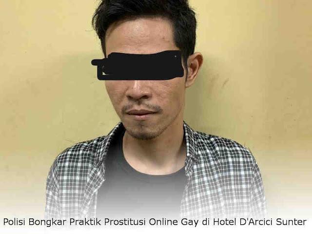 Polisi Bongkar Praktik Prostitusi Online Gay di Hotel D'Arcici Sunter