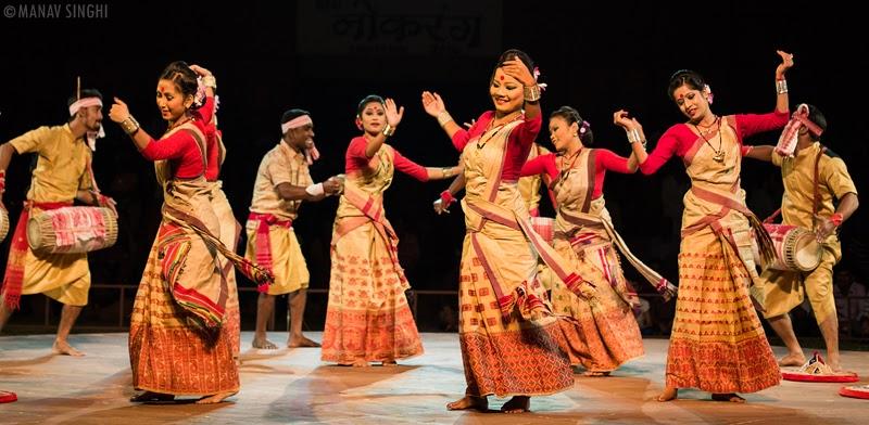 Bihu Folk Dance Assam