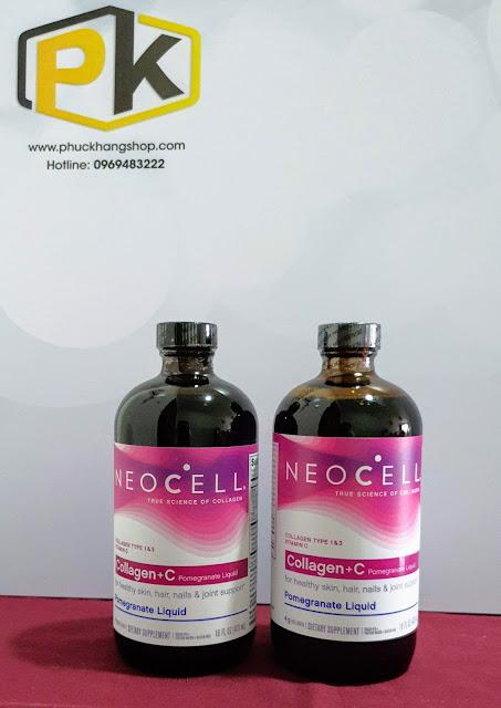Collagen lựu NEO CELL, Hàng Mỹ