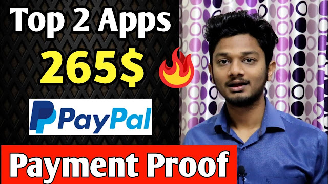 Top 2 Paypal Cash Earning Apps In India 2020 || Paypal Earn Money 2020 With payment proof