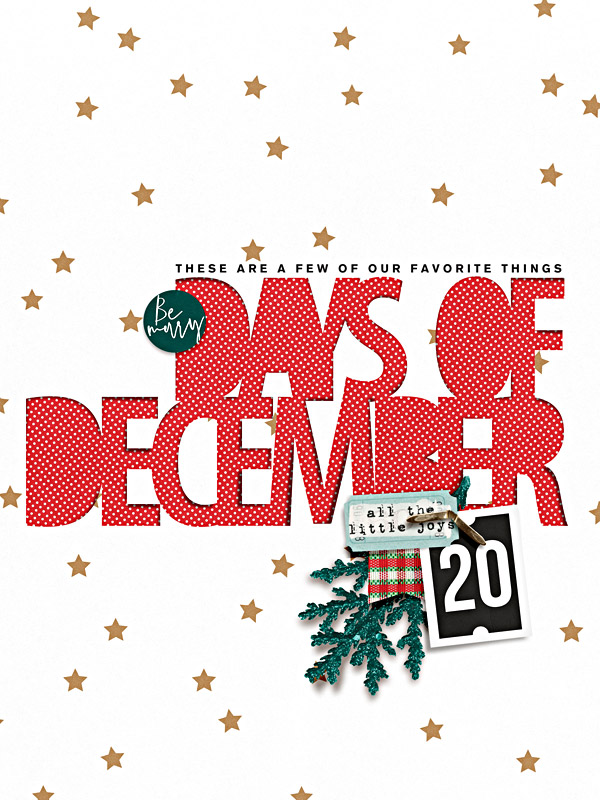 Days of December Cover Page