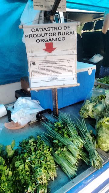 Indicação de produtor orgânico