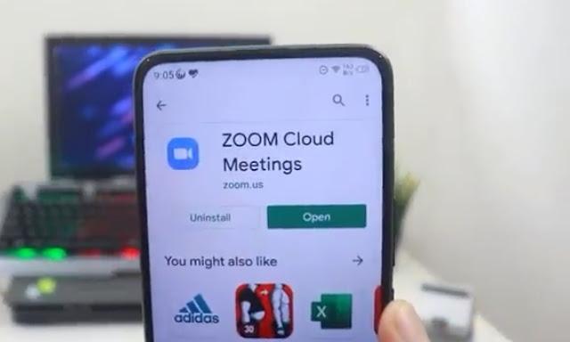 zoom cloud meeting app
