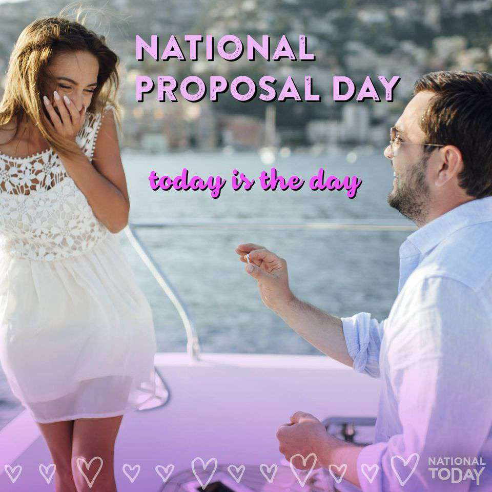 National Proposal Day Wishes Beautiful Image